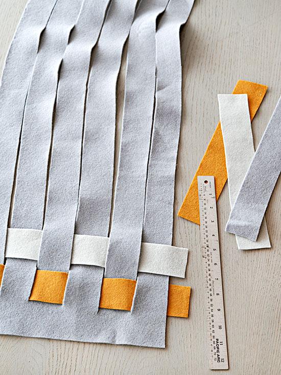 Un camino de mesa de dise o en minutos gu a de manualidades for Como hacer caminos de mesa modernos