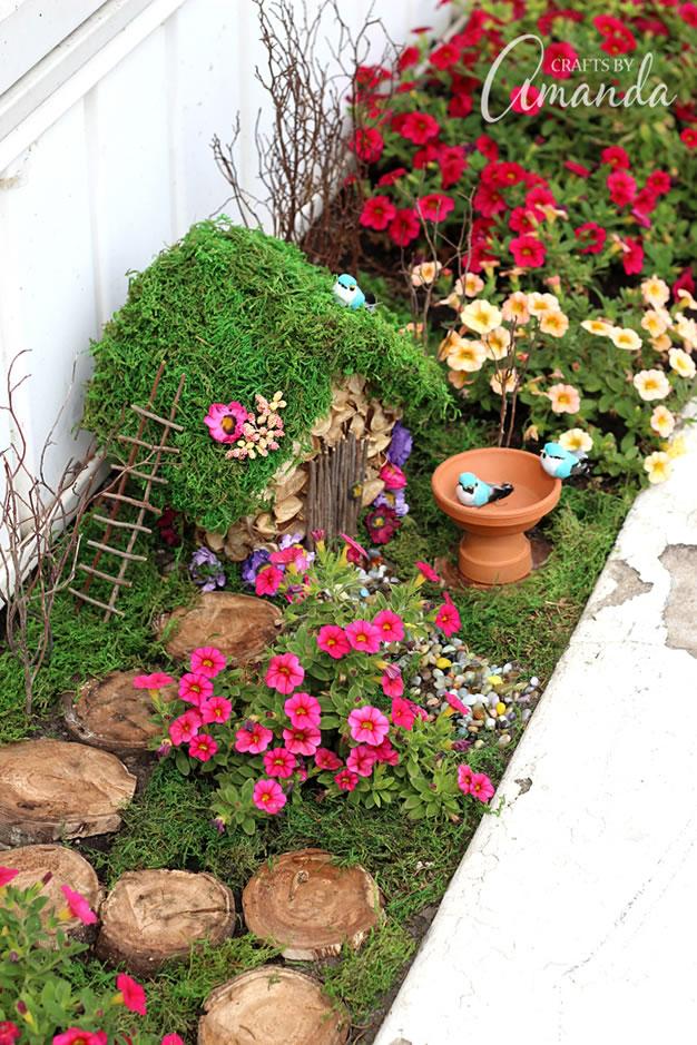 6 jardines de fantas a y hadas para hacer en casa gu a - Ver jardines de casas ...