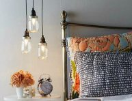 imagen Cómo hacer una lámpara con frascos de conservas