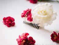 imagen Peineta con flores para lucirte en toda ocasión