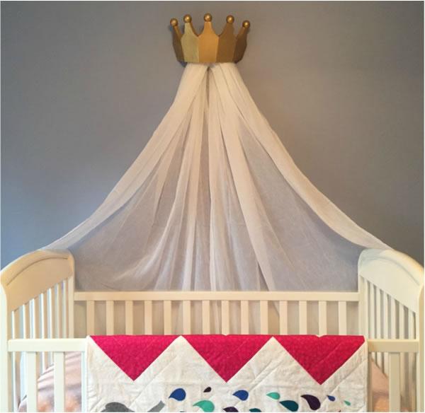 6 ideas para hacer un dosel para la habitaci n gu a de - Dosel cama nina ...