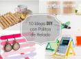 imagen 10 ideas DIY para hacer con palitos de helado