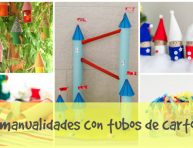 imagen 14 manualidades para reciclar tubos de cartón
