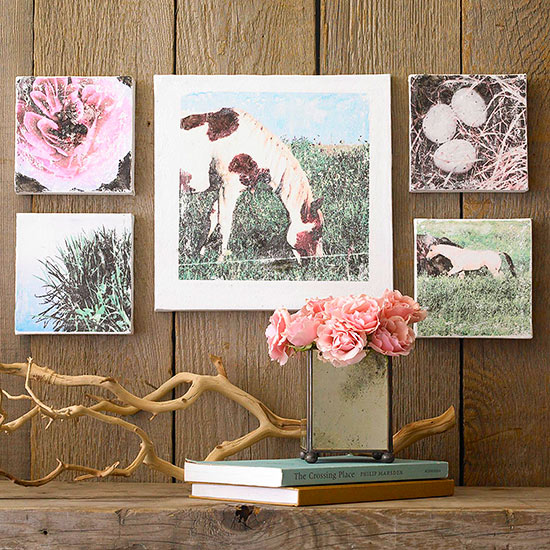 Cuadros bonitos bonitos y modernos paisajes con rboles y for Cuadros bonitos y modernos