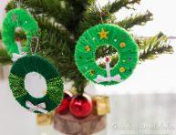 imagen Mini coronas para el árbol de Navidad