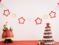 imagen Guirnalda de estrellas para Navidad
