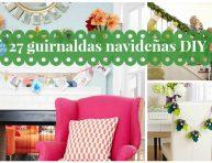 imagen 27 ideas inspiradoras de guirnaldas navideñas