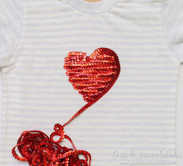 Decora Camisetas Con Lentejuelas Y Pegamento Guía De Manualidades
