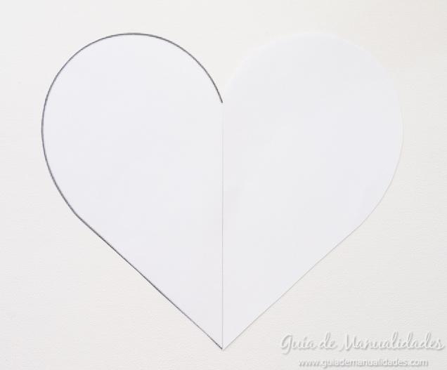 Cómo hacer un cojín corazón sin costuras - Guía de MANUALIDADES