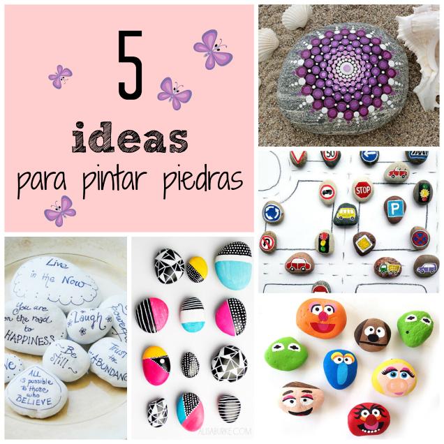 5 Ideas Para Pintar Piedras Gu A De Manualidades