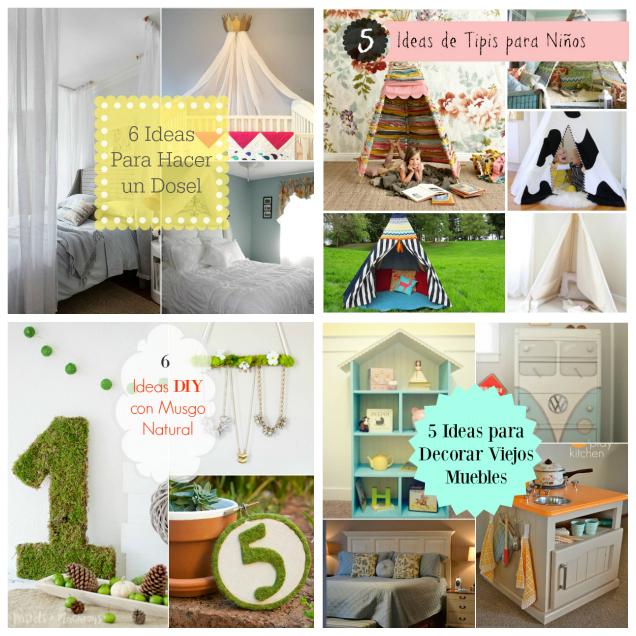 Las mejores ideas diy para decorar la casa gu a de for Ideas para decorar mi hogar