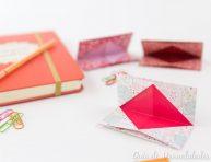 imagen Tarjetero de origami para llevar todos lados