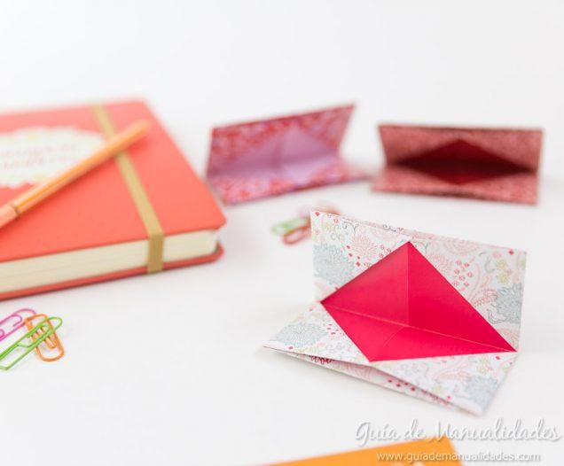 tarjetero de origami para llevar todos lados gu a de