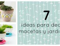 imagen 7 ideas para decorar tus macetas o jardineras esta temporada