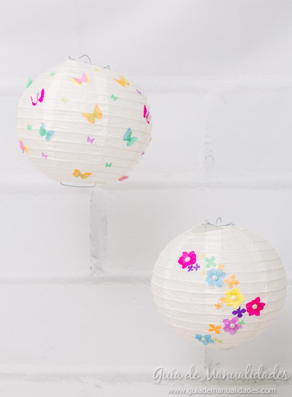 Lámparas Chinas Con Preciosos Diseños De Papel Diy Guía De Manualidades