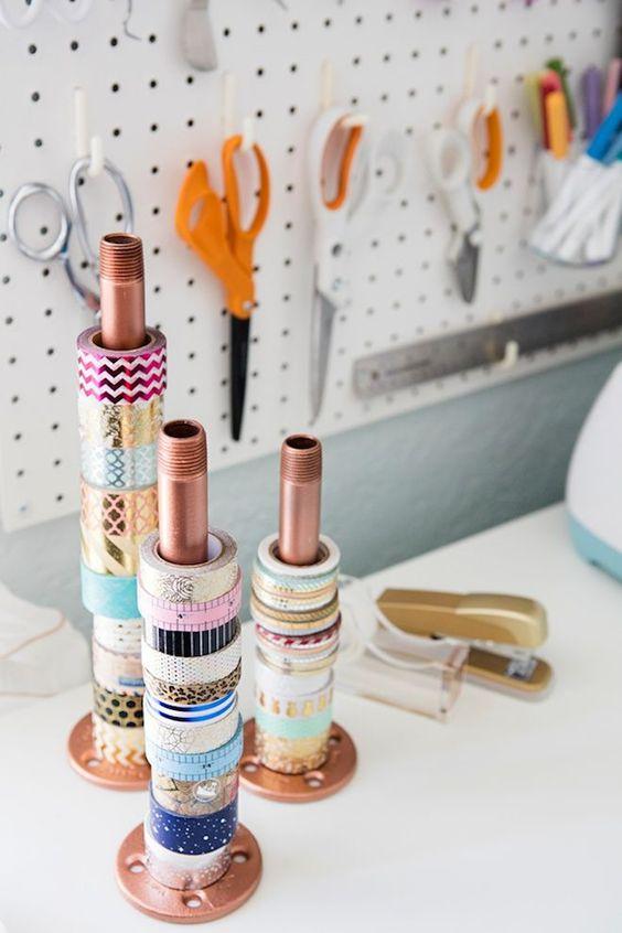 ver un cajn o estantera en una tienda repleta de washi tapes es casi tan como un rico heladou o por lo menos lo es para m