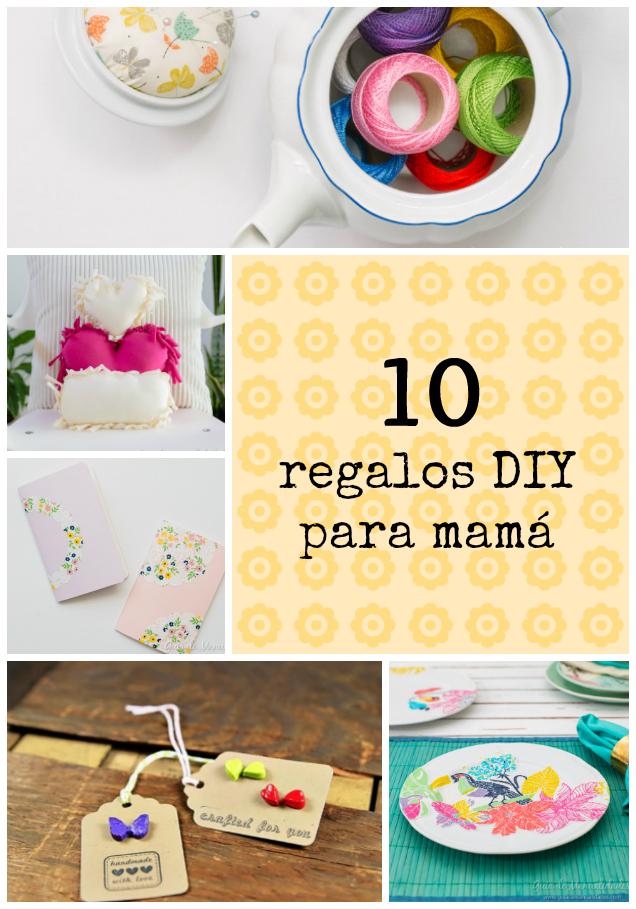 10 regalos diy para mam gu a de manualidades - Regalos para mama manualidades ...