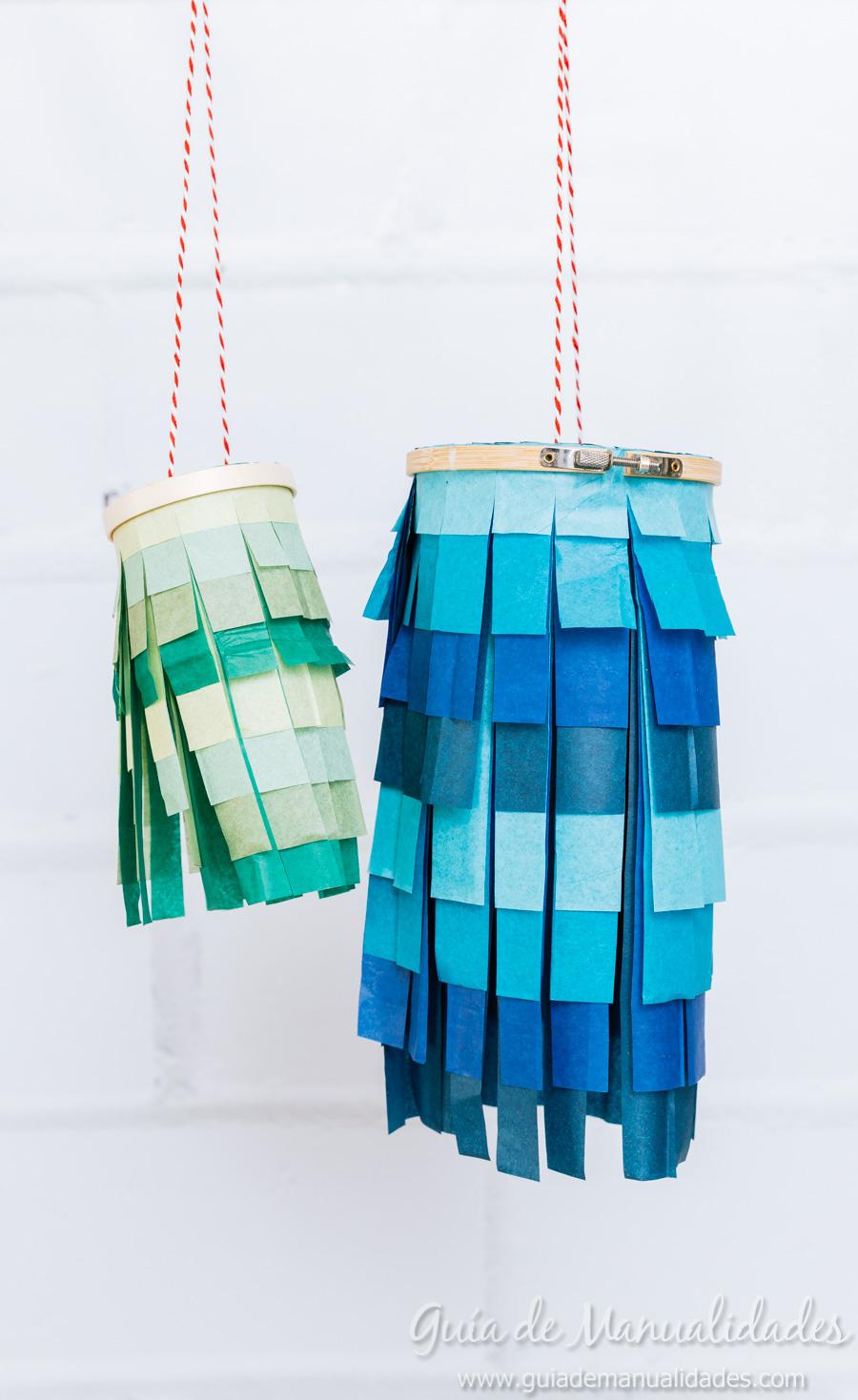 combinando bonitos colores de papel tissue o seda nuestra prxima fiesta o rincn especial de casa lucir increble lo mejor no se imaginan lo fciles que
