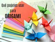 imagen Qué papeles usar para origami