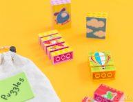 imagen Mini puzzles con piezas encajables