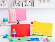 imagen 5 ideas para decorar sobres con cintas washi
