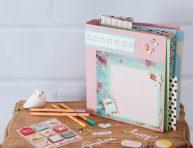 imagen Álbum de recuerdos DIY simple y bonito
