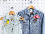 imagen Hazte unos broches originales con apliques para la ropa