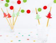 imagen Sorbetes de papel decorados para Navidad