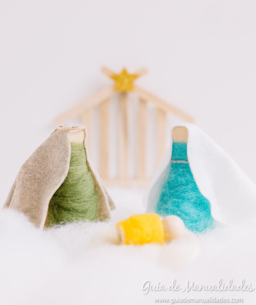 Gu a de manualidades y bricolajes - Belen navideno manualidades ...