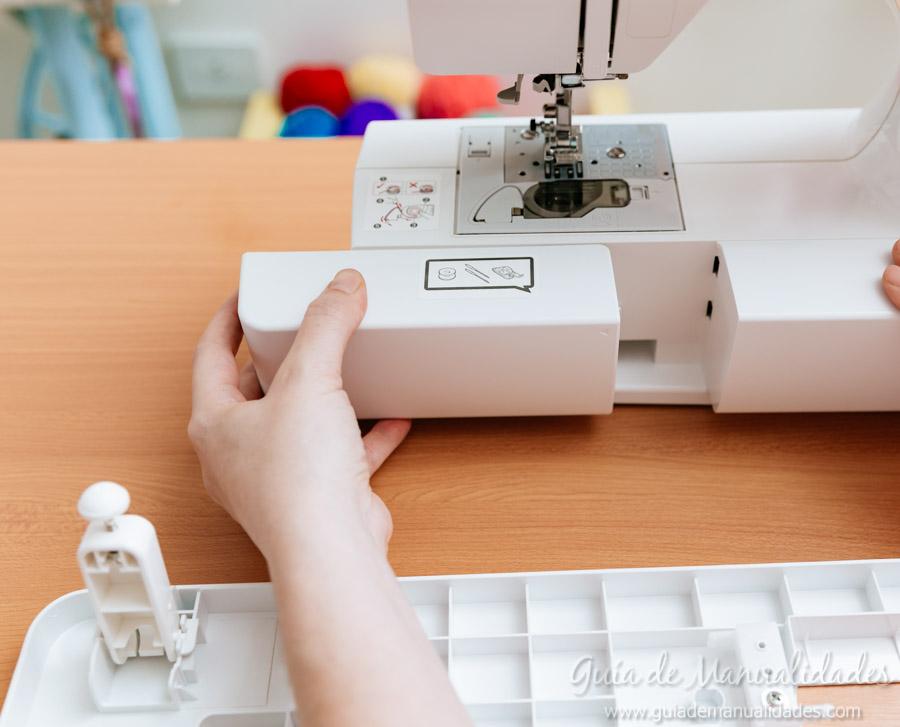 C mo colocar la mesa de extensi n a tu m quina de coser for Mesa para maquina de coser