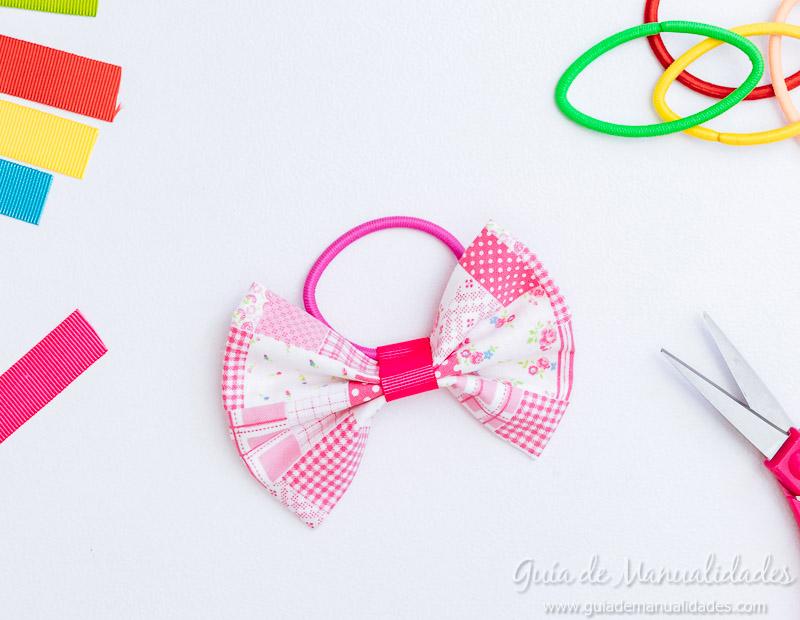 18d8a32e Moños para el cabello con telas y cintas ¡a coser! - Guía de ...