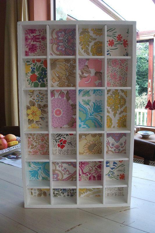 El papel pintado vuelve y podemos usarlo para ideas diy - Papel de arroz para decorar muebles ...