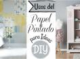 imagen El papel pintado vuelve y podemos usarlo para ideas DIY