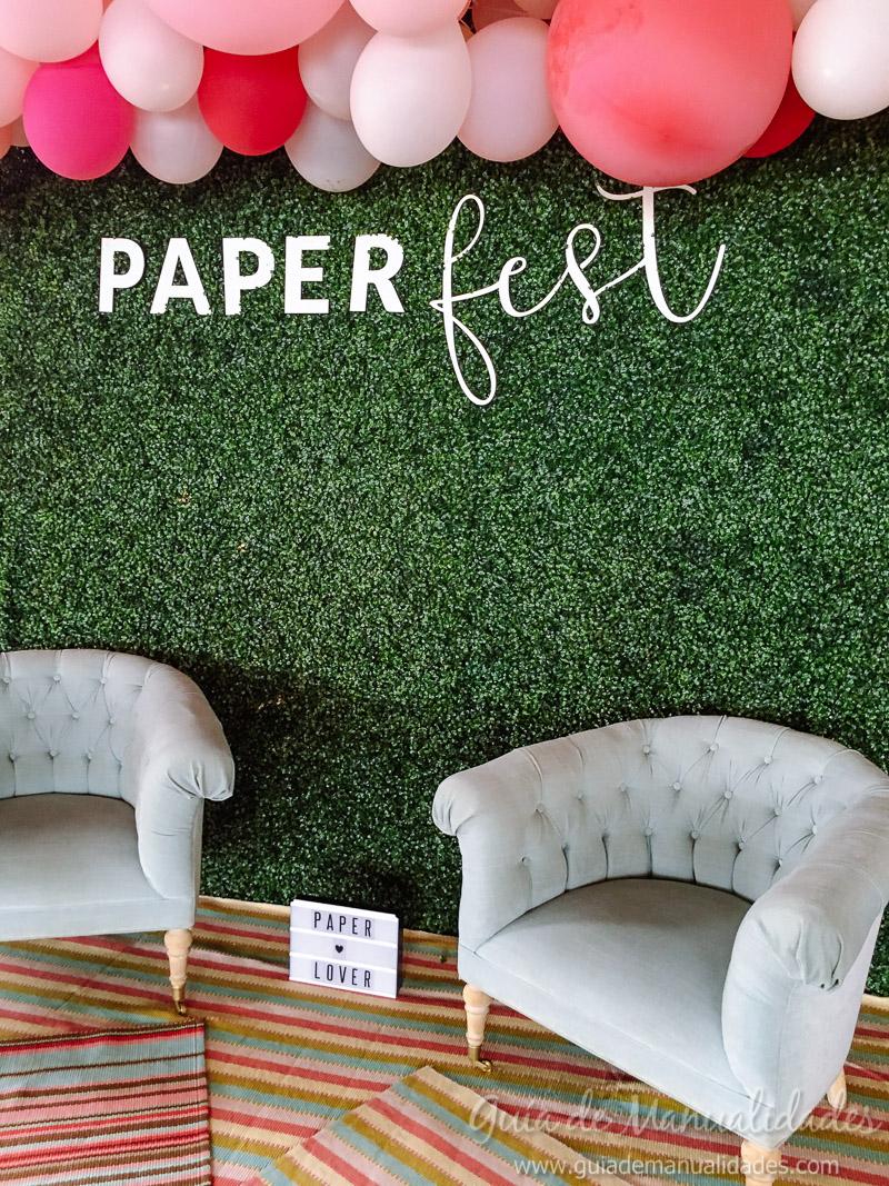 paper fest día 2 con Lora Bailora Mini Álbum 1