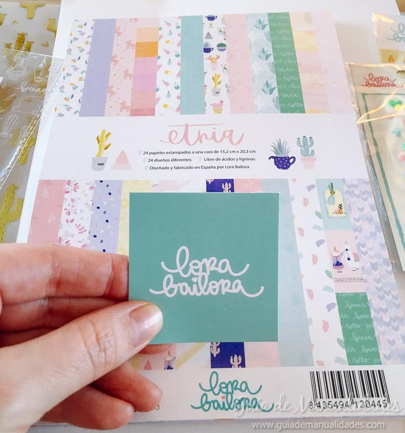 paper fest día 2 con Lora Bailora Mini Álbum 4