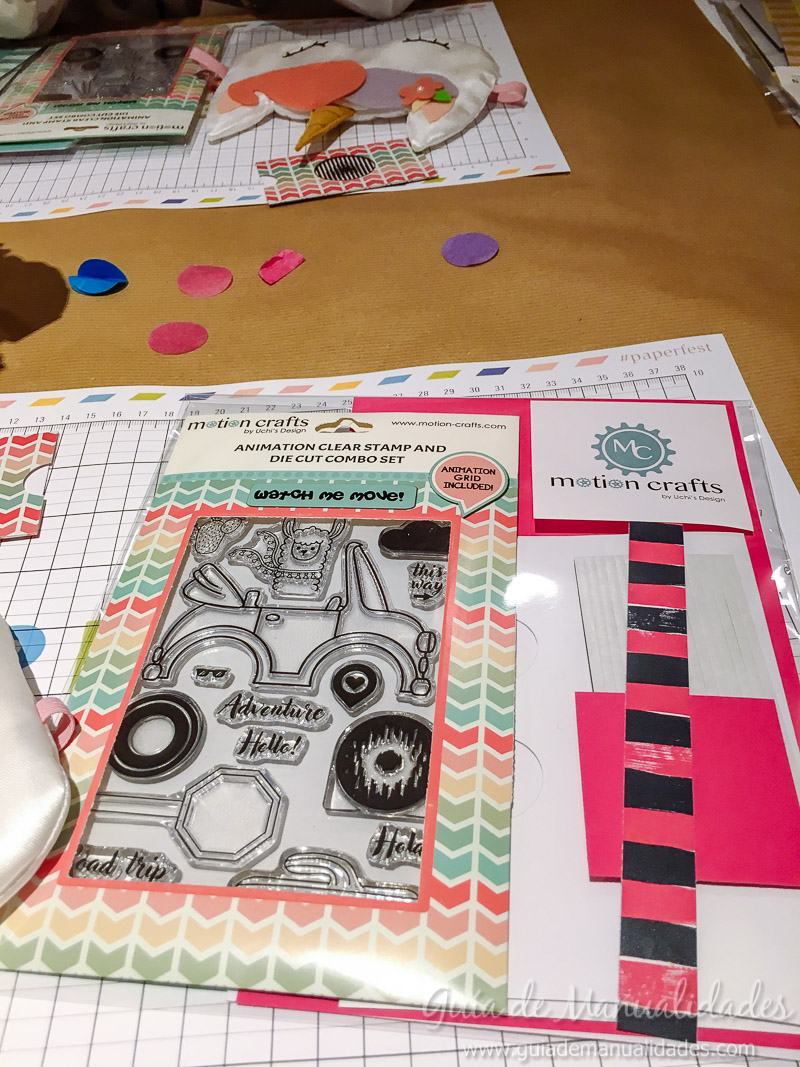paper fest día 2 con Motion Crafts pijama 3