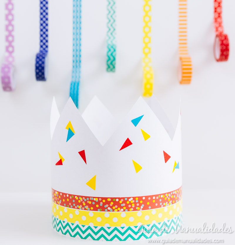 coronas diy decoradas con washi tapes 10