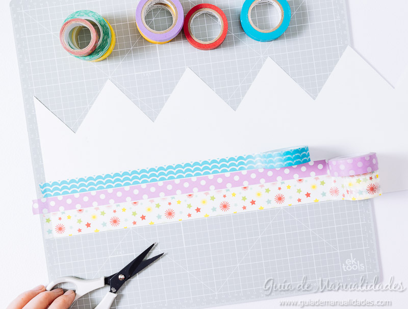 coronas diy decoradas con washi tapes 4