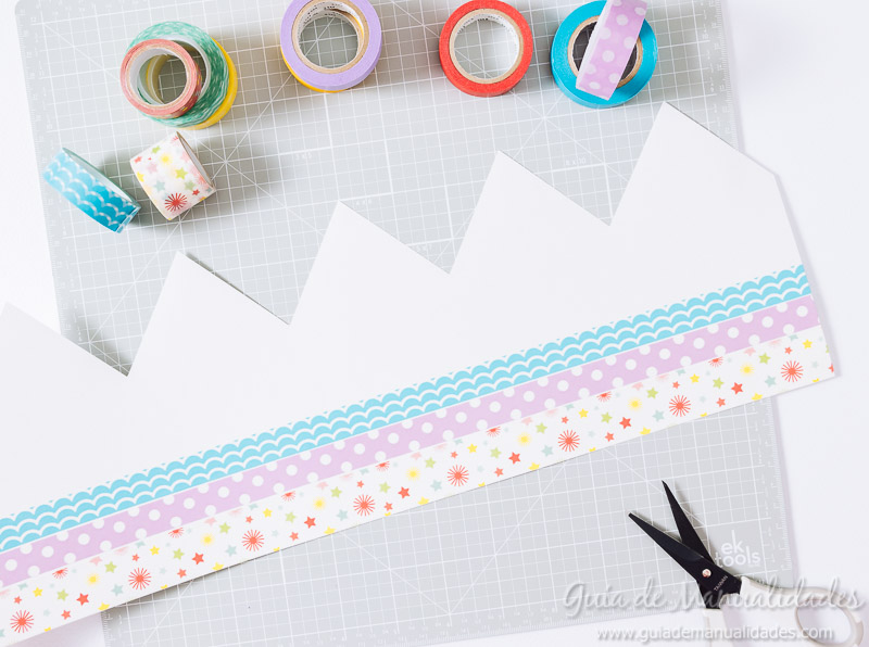 coronas diy decoradas con washi tapes 5