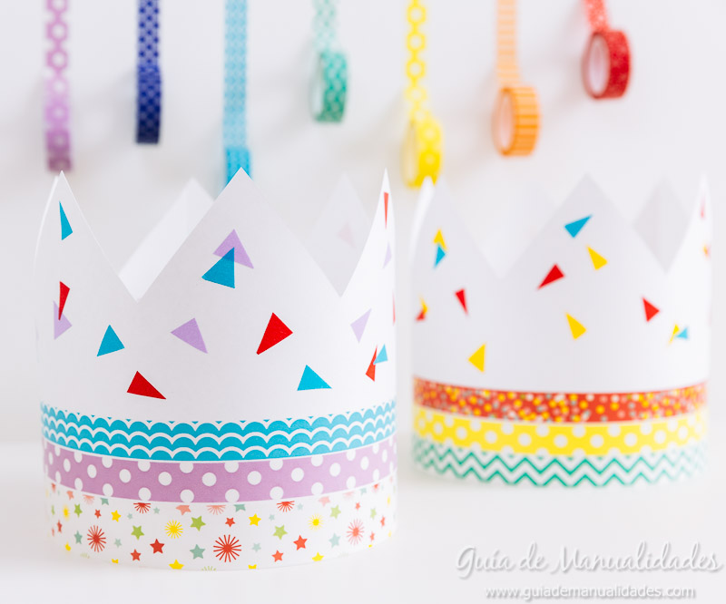 coronas diy decoradas con washi tapes 8
