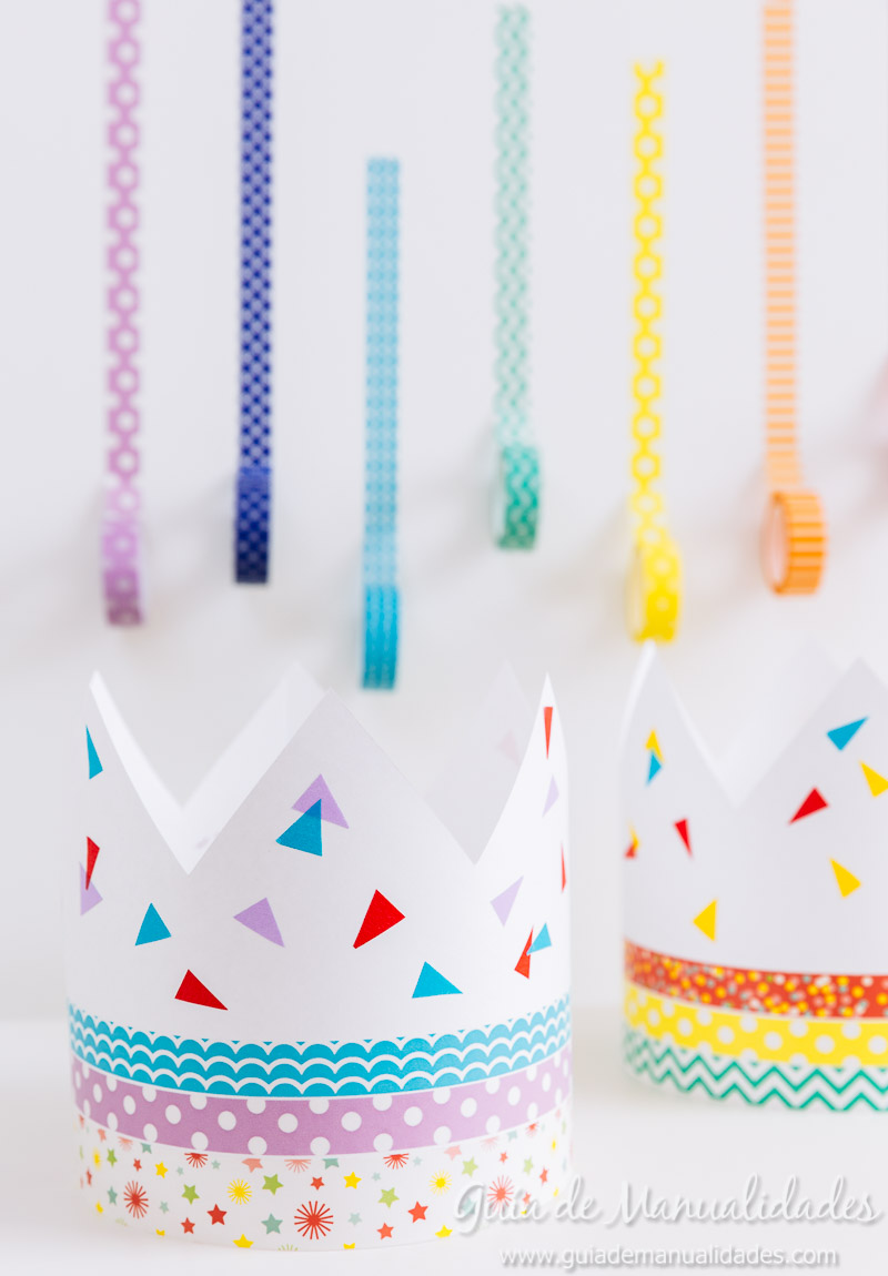 coronas diy decoradas con washi tapes 9