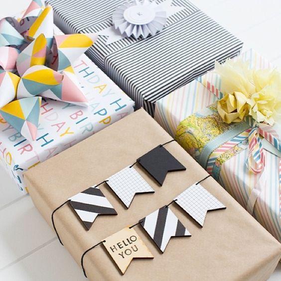 envolver regalos DIY 17