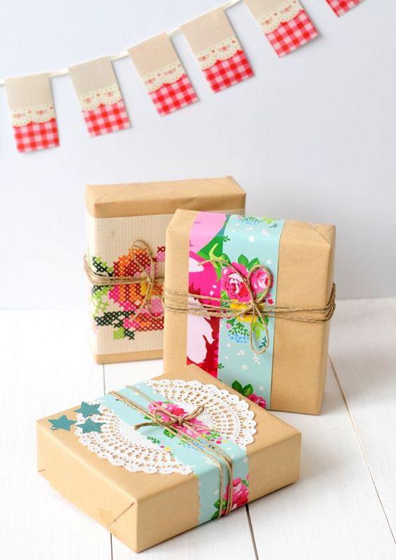 envolver regalos DIY 5