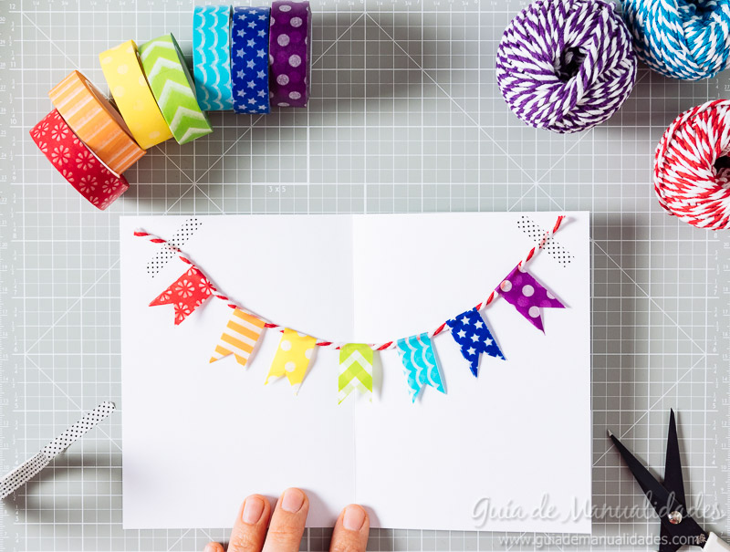 tarjetas con washi tapes 10