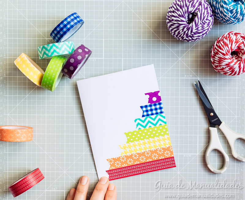 tarjetas con washi tapes 12