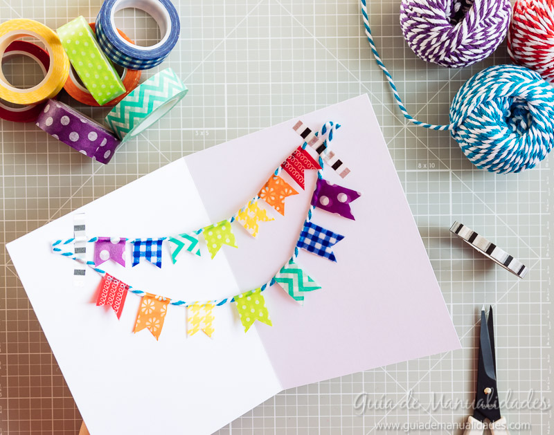 tarjetas con washi tapes 14