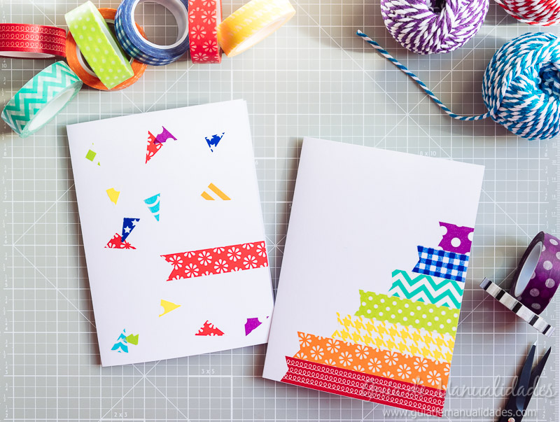 tarjetas con washi tapes 15