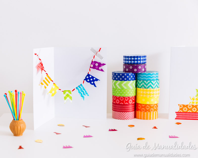 tarjetas con washi tapes 19
