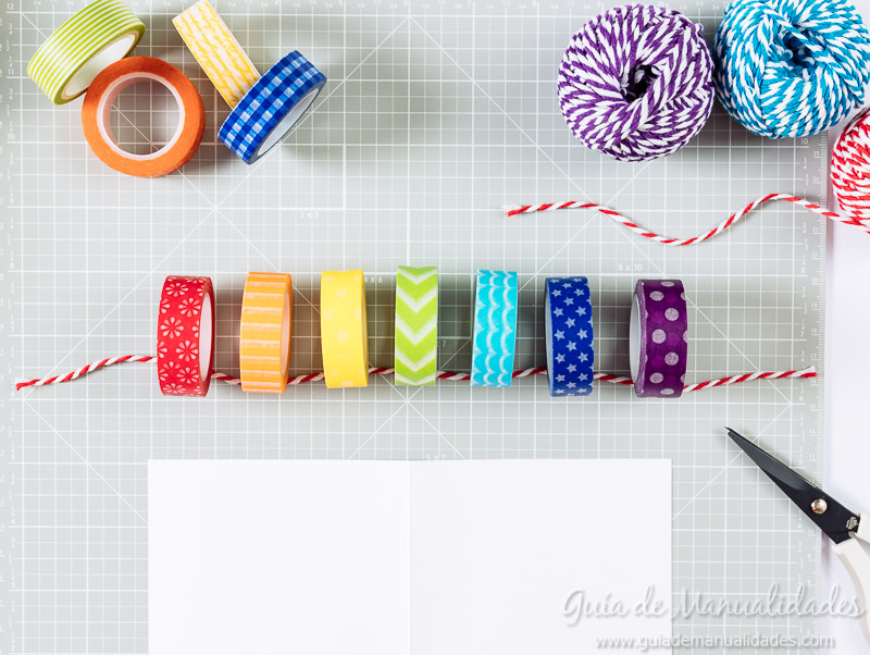 tarjetas con washi tapes 6