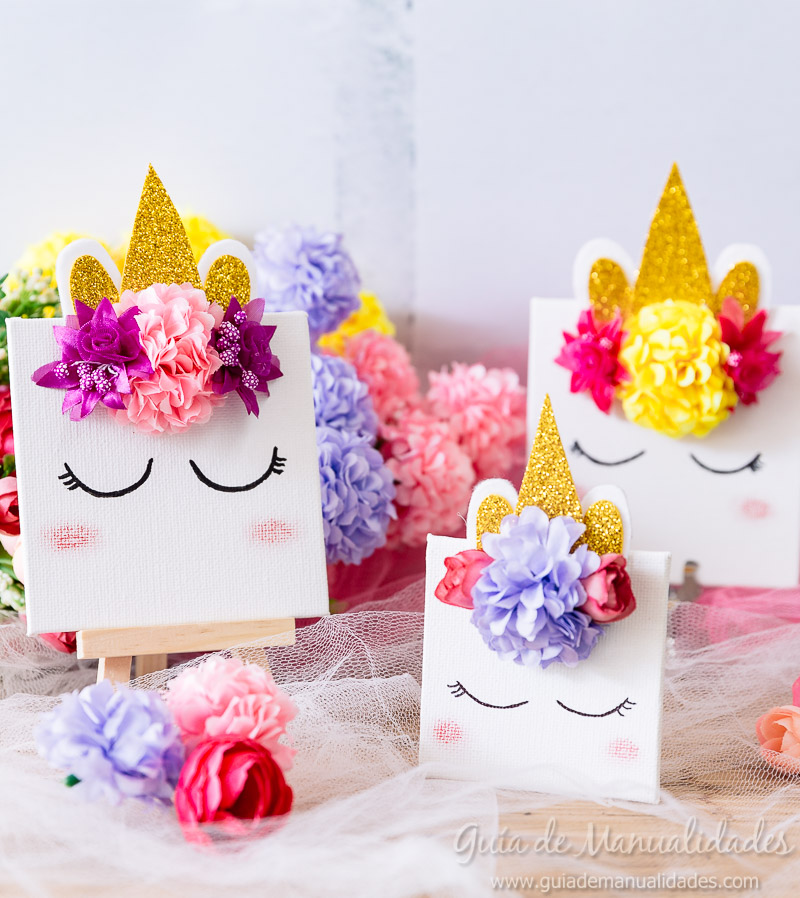 cuadro mini unicornio 1